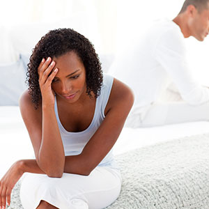 Coping with day-to-day life during romantic troubles