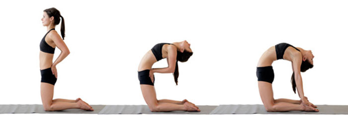 Camel Pose to Release Blocked Emotion