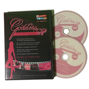Strip Like a Goddess DVD Collection for Sale