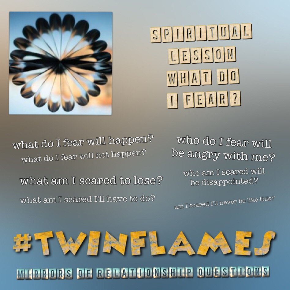 Twin Flame Mirrors of Relationship Questions - Twinflame